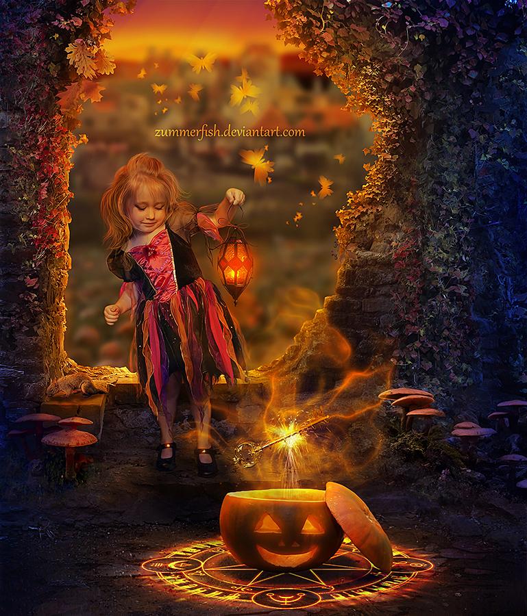 Mysteries of Golden Pumpkin by zummerfish