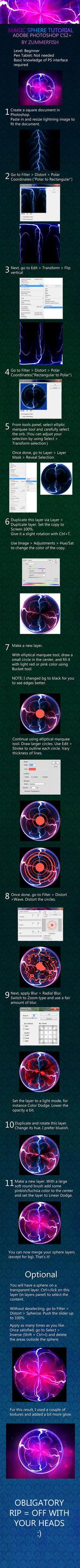 Magic Sphere Tutorial by zummerfish