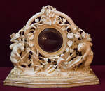 Fancy ornate mirror 4099