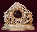 Fancy ornate mirror 4099