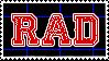 [ stamp | RAD ] by saaros