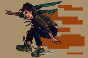 run boy, run