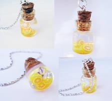 Lemons and Oranges - mini bottle
