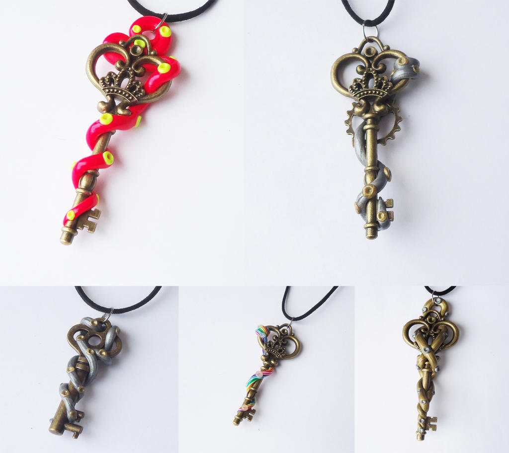 Tentacle keys 04/30 by FrozenNote
