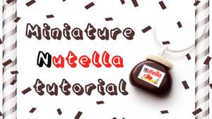 DIY Mini Nutella tutorial