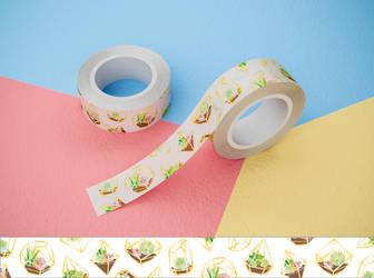 Terra washi tape