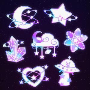 STARLUME enamel pins - Kickstarter ends in 5 days