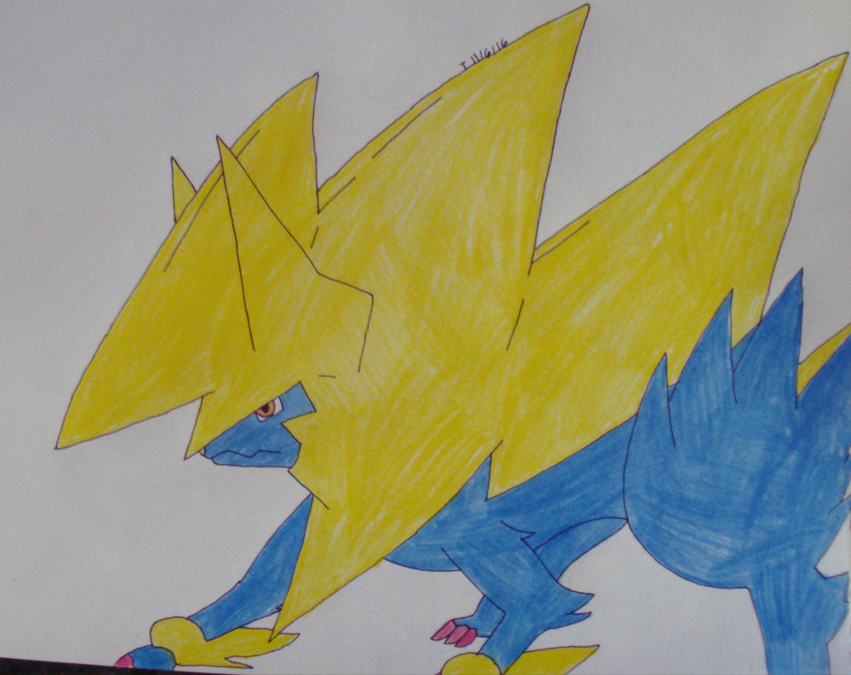 manectric mega evolution by mewmewsailorscout on deviantart