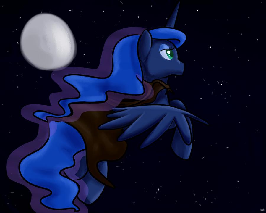 Wandering Luna by Angelstar7