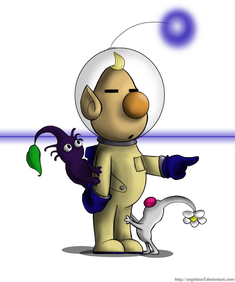Pikmin louie drawing