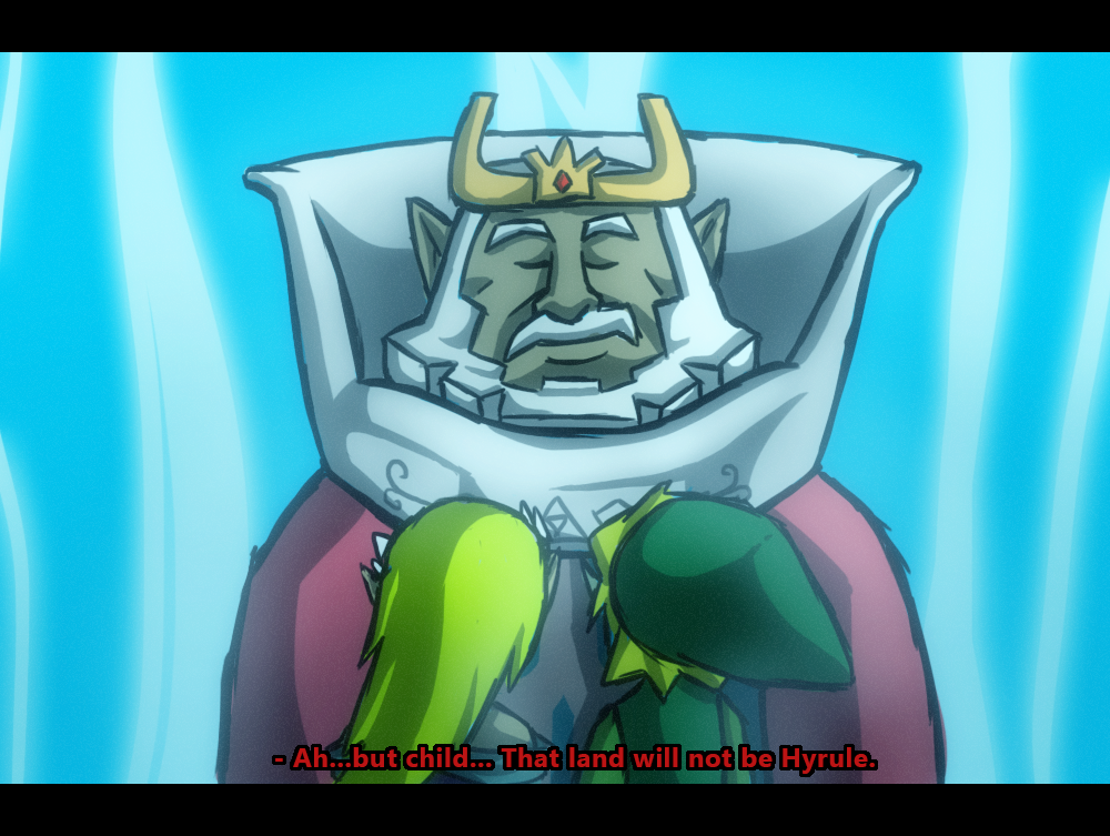 Farewell King Of Hyrule By Angelstar7 On Deviantart