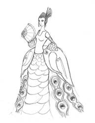 Lady Peafowl by Fisenite