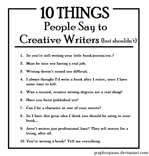 What kinds of jobs can creative writing majors get once they graduate?