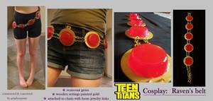 Teen Titans Cosplay: Raven's Belt