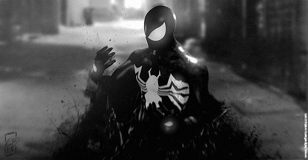 Symbiote Spider-man By Felipe Fierro by FelipeFierro