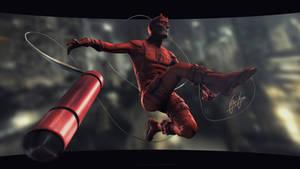 Daredevil: The man Without Fear by FelipeFierro