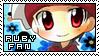 RUBY FAN by LittleStar87