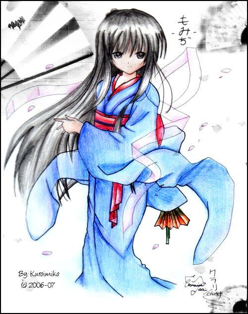 Geisha Momiji    by KuroiMiko