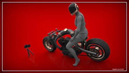 Lowrider Motorcycle photoshoot