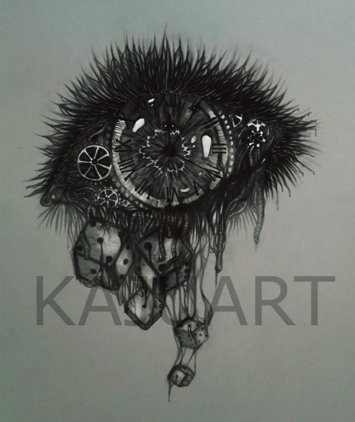 Clock eye by kajunixxD