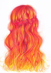 Red Hair by kajunixxD