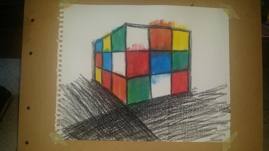 Quick Rubik's Cube by tokki-world
