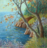DRIED TREE by Hydrangeas