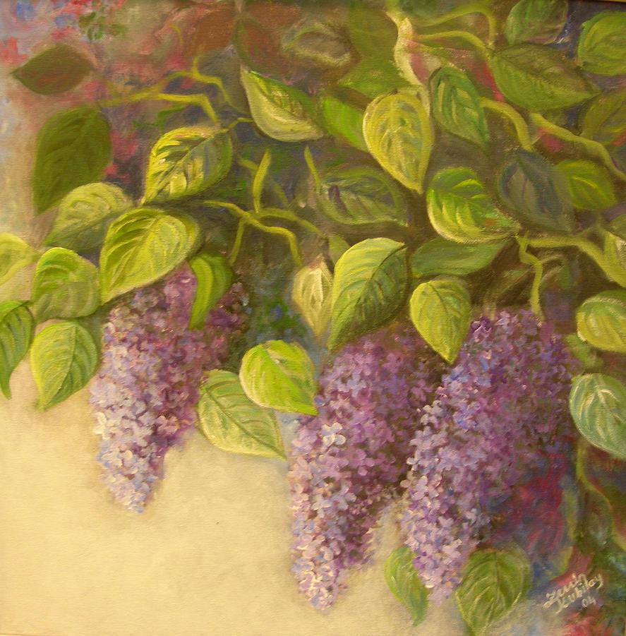 purple by Hydrangeas