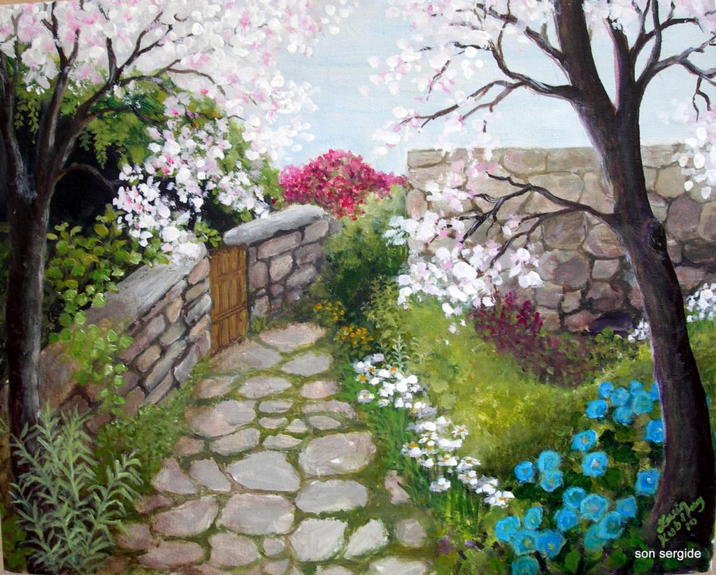 Spring in Datca by Hydrangeas
