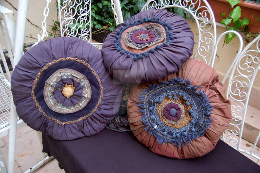 My handmade unique pillows