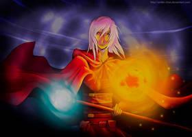 Red Mage Raistlin by Aidiki-chan