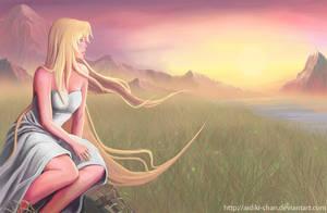 Landscape by Aidiki-chan