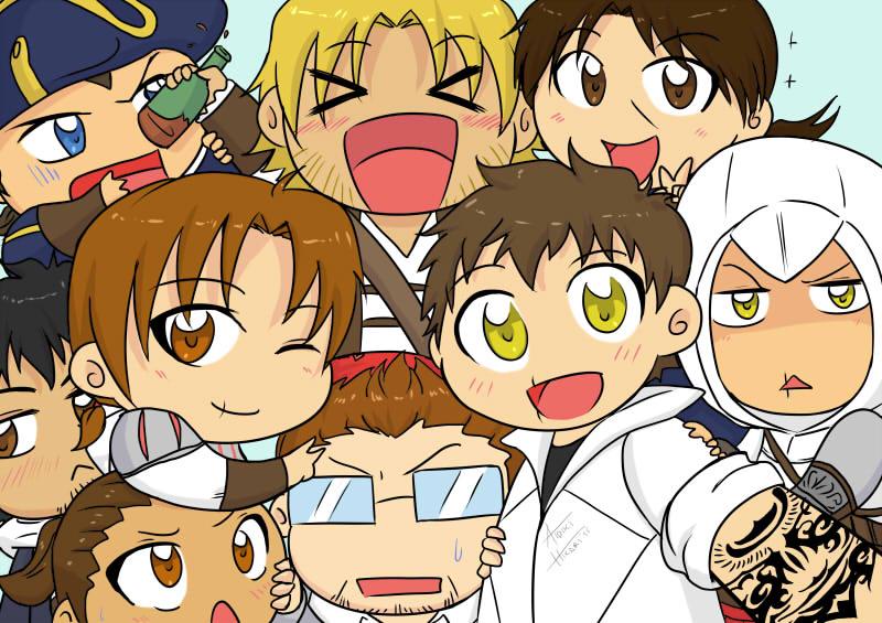 Assassins selfie by Aidiki-chan