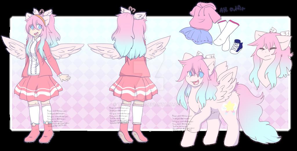 Anime oc: Angel Star by Twily-Star