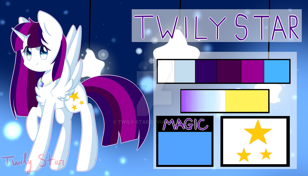 [2017] Twily Star Reference by Twily-Star