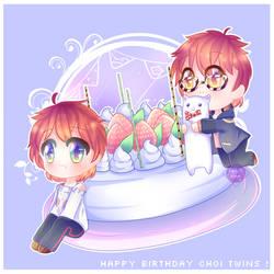 Happy Birthday Choi Twins !! by Twily-Star