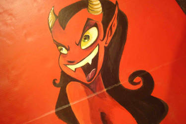 Demon lady by milopunk