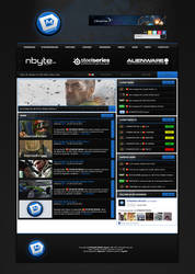 DYNAMICMOUSE eSports Website by iroN94