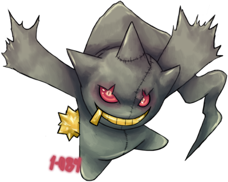 Renders Pokemons 01 354___banette_by_1_084-d6j1wb5