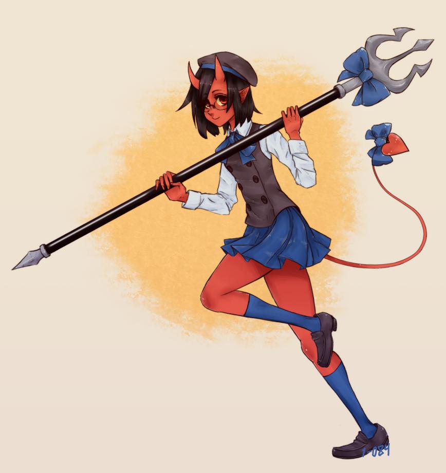 CE - Anzu the moe devil girl by 1-084