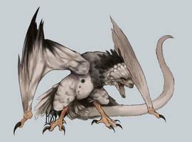 CE - Dragon X Harpy eagle