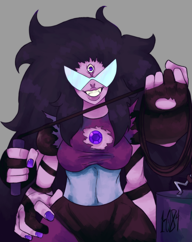 """I forgot how great it feels to be me!"" sugilite was one of my less favorite fusion but when you think of her as a fusion  between an hindu goddess with a japanese oni it's pretty badass"