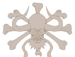 OP- kaido's jolly roger wip by 1-084