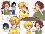 Tanitsu doodles