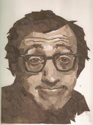 Woody Allen by semily
