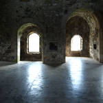 Stock Castle inside