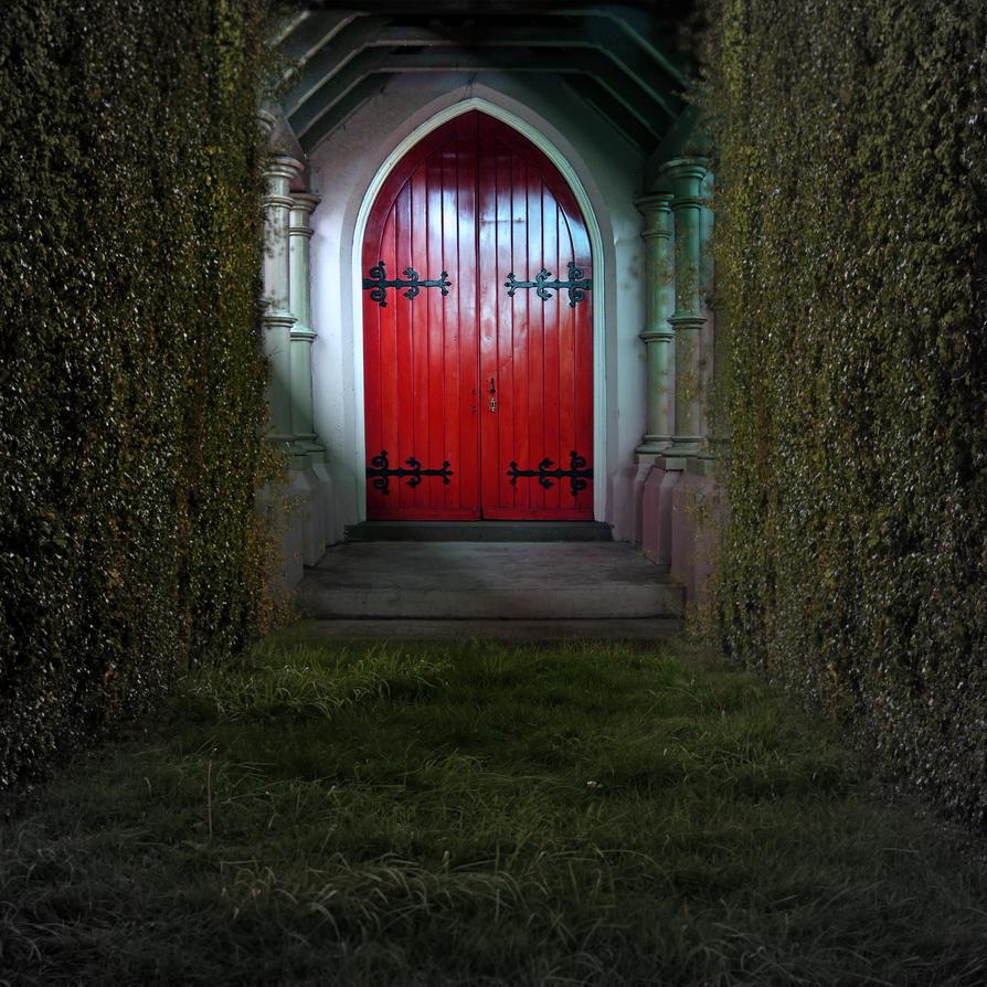 Premade Bg The Red Door By E Dinaphotoart On Deviantart