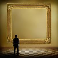 Premade BG Longing - man by E-DinaPhotoArt