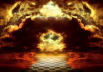 Premade BG Walking on heaven