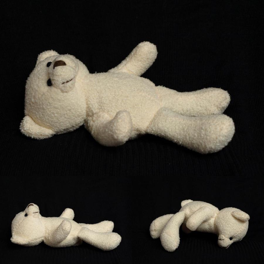 Stock Teddy lying